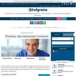 Devenir Directeur des ressources humaines - Fiche métier - Studyrama