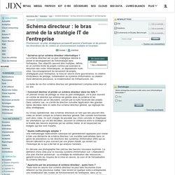 Schéma directeur : le bras armé de la stratégie IT de l'entreprise
