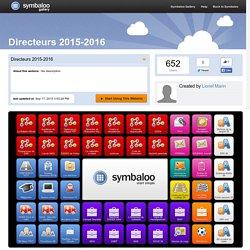 Directeurs 2015-2016
