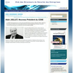 2011 Président du CDSE