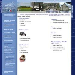 Direction des services départementaux de l'éducation nationale du Loiret:Langue vivante : Anglais
