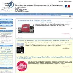 Direction des services départementaux de la Haute-Vienne