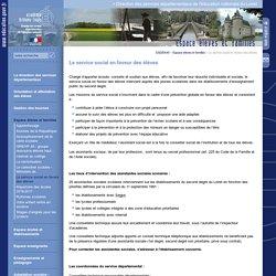 Direction des services départementaux de l'éducation nationale du Loiret:Le service social en faveur des élèves