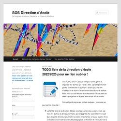 Le blog des directeurs d'école de la Charente Maritime