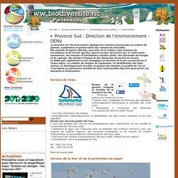Province Sud : Direction de l'environnement - DENV