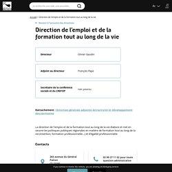 Direction de l'emploi et de la formation tout au long de la vie · Région Bretagne