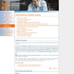 La direction de la Pédagogie de l'académie de Bordeaux