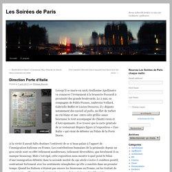 Les Soirées de Paris - 07.04.2017 - Direction Porte d'Italie