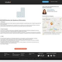 Offres d'emploi : AUCHAN Direction des Systèmes d'Information. Tous les postes à pouvoir sur viadeo