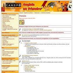 Chansons - Réseau Canopé – Direction territoriale académies de Besançon et de Dijon