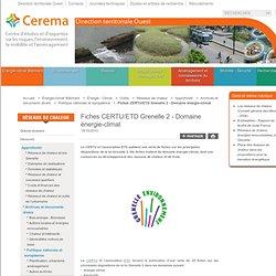 Fiches CERTU/ETD Grenelle 2 - Energie-climat