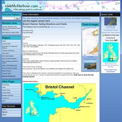 Bristol Channel, Sailing Directions and Charts [Expanded View] : pilotage, charts, photos and marine business listings