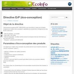 Directive ErP (éco-conception)