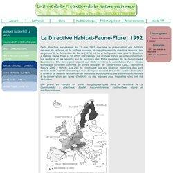 La Directive Habitat-Faune-Flore, 1992