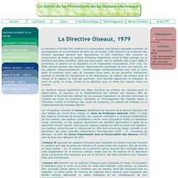 Directive Oiseaux, 1979