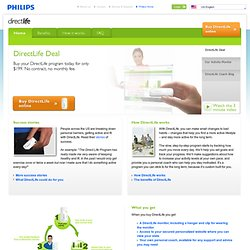 Home- PHILIPS DirectLife