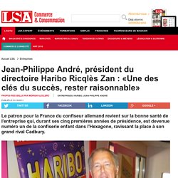 Jean-Philippe André, président du directoire... - Biscuiterie, Confiserie, Petit Déjeuner