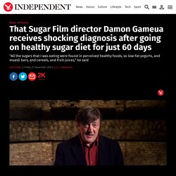 That Sugar Film director Damon Gameua receives shocking diagnosis after going on healthy sugar diet for just 60 days