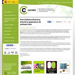 Free Software Directory, directorio gigantesco de software libre