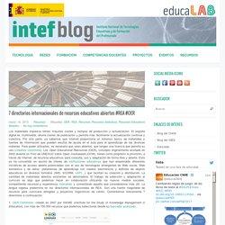 7 directorios internacionales de recursos educativos abiertos #REA #OER