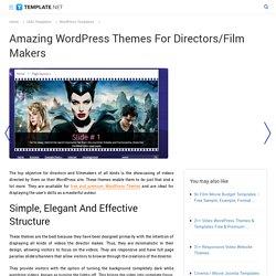 10 Best Directors/Film Makers Wordpress Templates & Themes