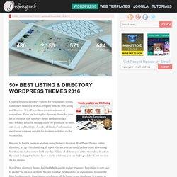 50+ Best Listing & Directory WordPress Themes 2016 - freshDesignweb