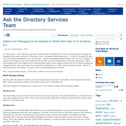 Ask the Directory Services Team