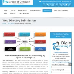 Website Directory Submission in Pretoria by Digital Marketing PTA