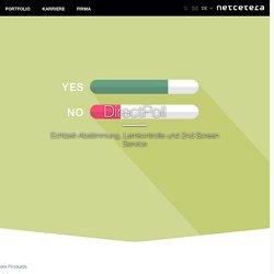 DirectPoll - Echtzeit-Abstimmung für Lernkontrolle und 2nd Screen Service