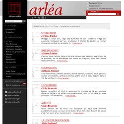 Éditions Arléa -1er Mille