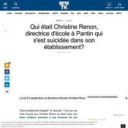 Qui était Christine Renon, directrice d'école à Pantin qui s'est suicidée dans son établissement?