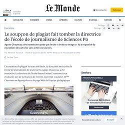 Le soupçon de plagiat fait tomber la directrice de l'école de journalisme de Sciences Po