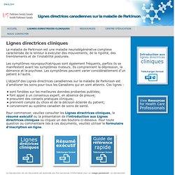 Lignes directrices canadiennes sur la maladie de Parkinson