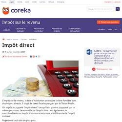 Impôts directs : exemples et définition de l'impôt direct