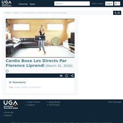 POD - Cardio Boxe Les Directs Par Florence Liprandi