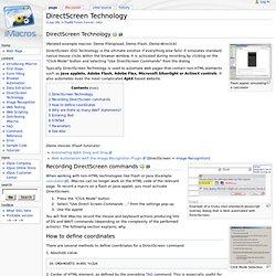 DirectScreen Technology