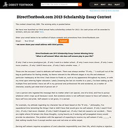 directtextbook.com scholarship essay contest College scholarship essay writing tips directtextbookcom 2017 high school senior scholarship essay contest (deadline: http://wwwdirecttextbookcom.
