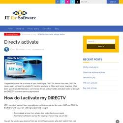 How Do I Activate My Directv Account?