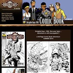 DIRIGIBLE DAYS: 998 ~ The Comic Book! (steampunk, cthulhu, comic book, webseries, sci-fi, dirigible, star wars, lovecraft, star trek, firefly, dieselpunk)