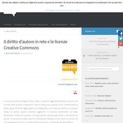 Il diritto d'autore in rete e le licenze Creative Commons – BRICKS