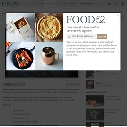 Dirty Chai Toddy recipe from food52