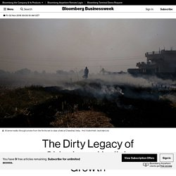 The Dirty Legacy of China's and India's Growth