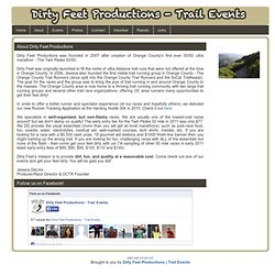 Dirty Feet Productions - Trail Events