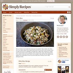 Dirty Rice, Cajun Rice Recipe