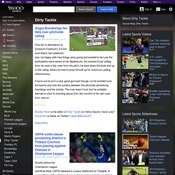 World Soccer Blog: Dirty Tackle - Yahoo! Sports Blog