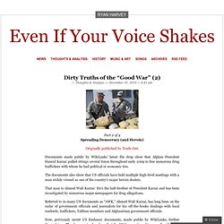"Dirty Truths of the ""Good War"" (2) « Even If Your Voice Shakes"