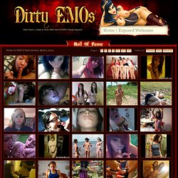 DirtyEmos.com | Hot & Dirty EMO and GOTHIC Amateur Girls Exposed