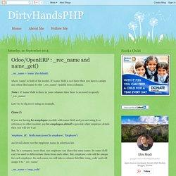 DirtyHandsPHP: Odoo/OpenERP : _rec_name and name_get()