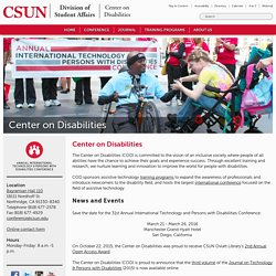 Center On Disabilities
