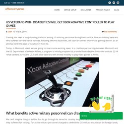 US Veterans with disabilities will get Xbox Adaptive Controller to play games